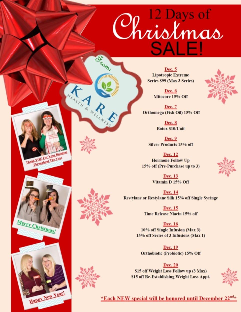 12 days of christmas flyer - Denmar.impulsar.co