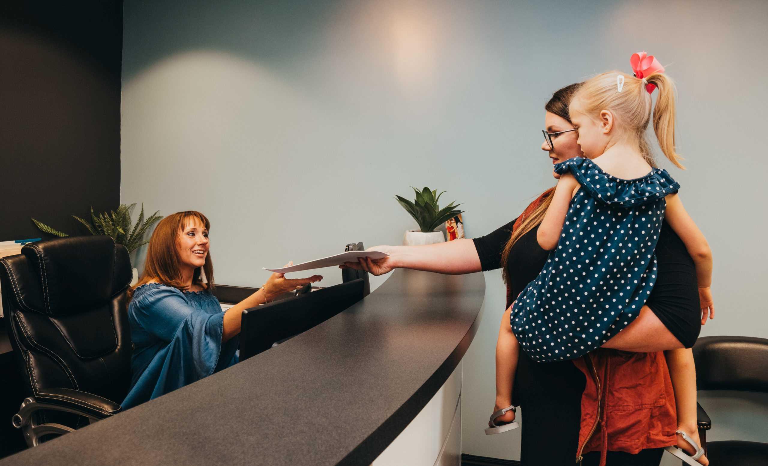 Integrative Pediatric in Springfield Missouri - Holding Child