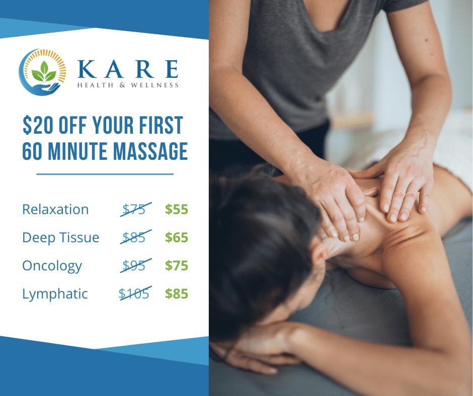 20 Dollars Off First 60 Minute Massage in Springfield Missouri