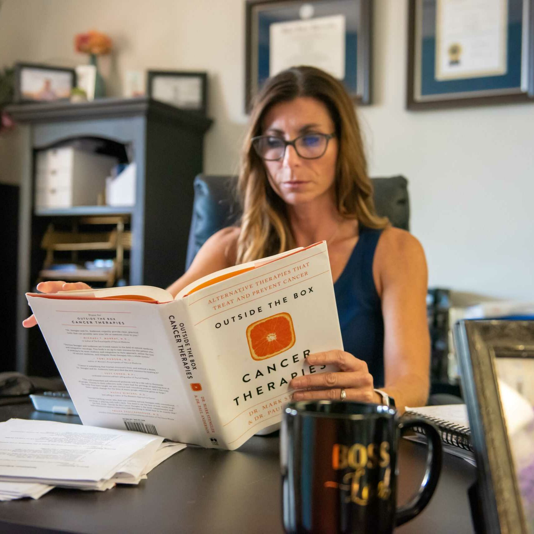 Alternative Cancer Treatment Springfield Missouri - Keri Reading Cancer Book