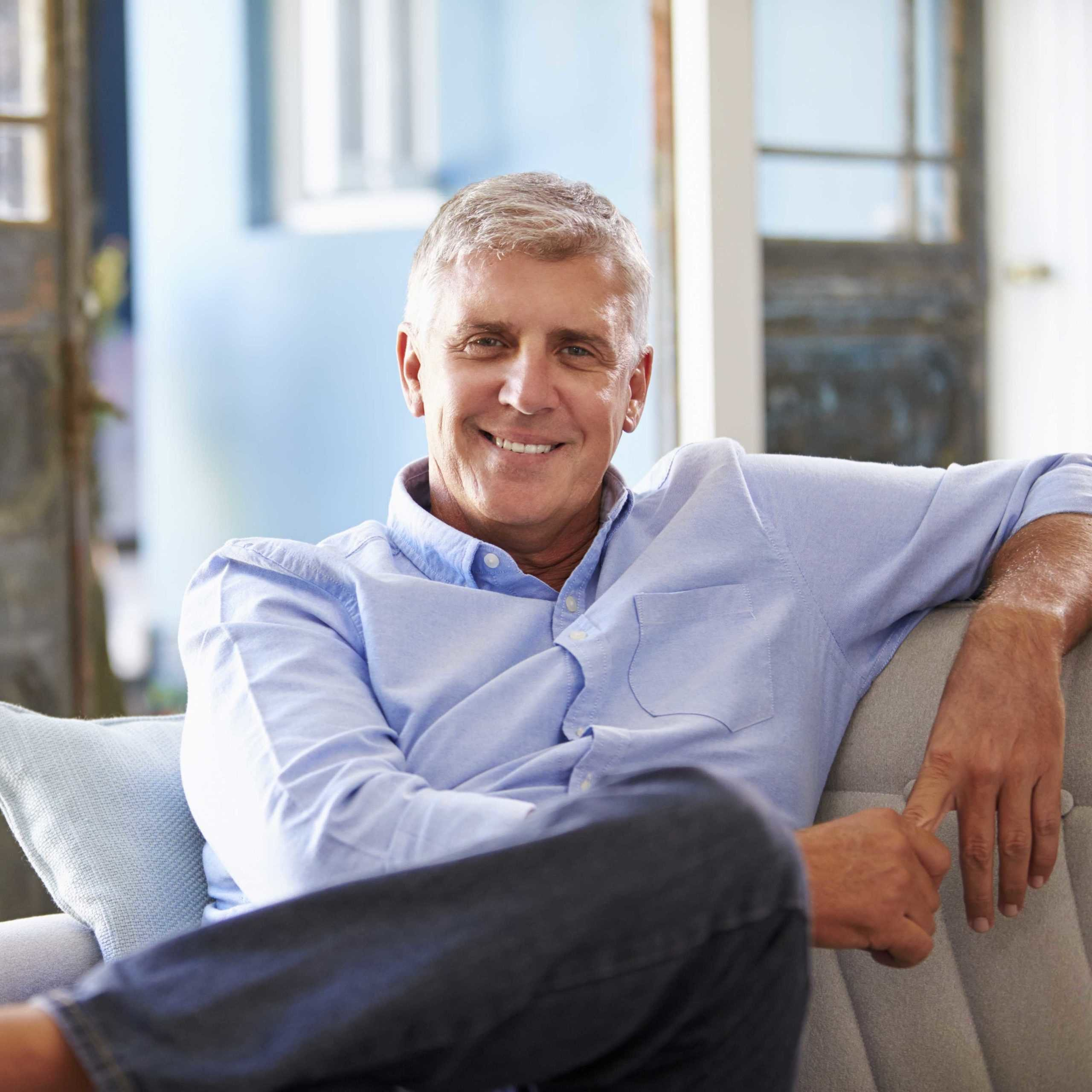 Our Hormone Replacement Therapy Programs - Bioidentical Hormones in Springfield Missouri - Smiling Man