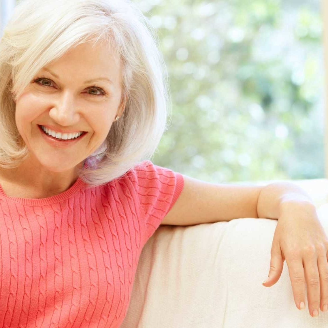 Our Hormone Replacement Therapy Programs - Bioidentical Hormones in Springfield Missouri - Woman on Couch