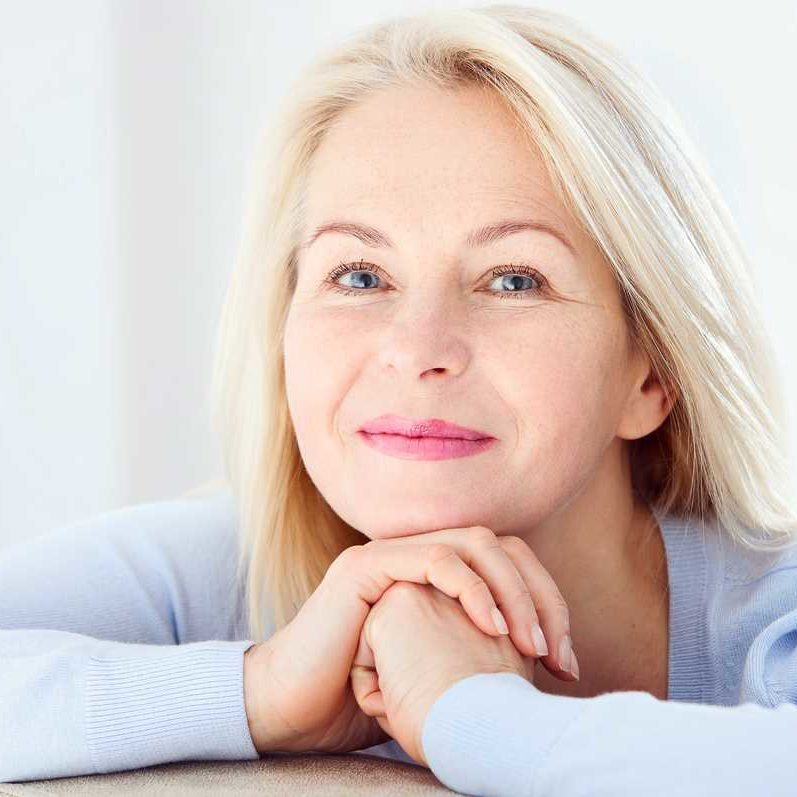Our Hormone Replacement Therapy Programs - Bioidentical Hormones in Springfield Missouri - Woman with Chin on Hands